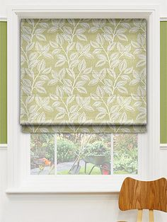 The Silverleaf Roman Blind is available in 6 beautiful shades and are all 100% Cotton.