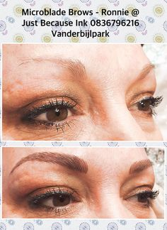 Just Because, Permanent Makeup, Brows, Ink, Eyebrows, India Ink, Eye Brows, Brow