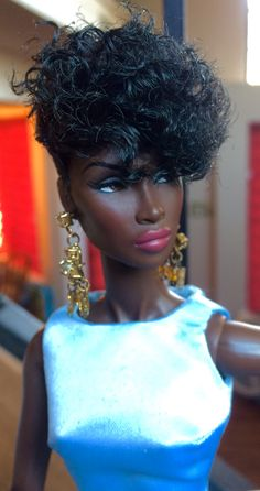 Shared by Carla Beautiful Barbie Dolls, Pretty Dolls, Original Barbie Doll, Black Baby Dolls, Reborn Toddler Dolls, Diva Dolls, Barbie Hair, African American Dolls, Black Barbie