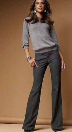25 Georgeus Casual Work Outfits For Women - Winter Outfits - Work Outfits Women Summer Business Casual Outfits, Business Outfit, Casual Work Outfits, Winter Outfits For Work, Work Attire, Work Casual, Casual Looks, Stylish Outfits, Office Attire