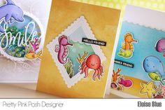 One Stamp Set // Three Cards + Video | Pretty Pink Posh