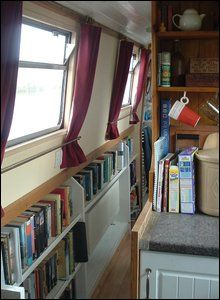 The new corridor on the boat