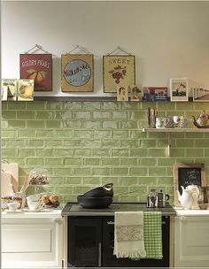 Lovely Erba Subway tiles available in TileStyle