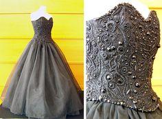 Les broderies très élégantes de Pascal Jaouen sur des robes de style Haute Couture | Finistère Bretagne
