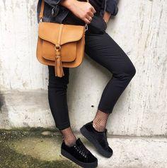 """342 likerklikk, 2 kommentarer – Eurosko Official (@eurosko) på Instagram: """"Velvet sneakers and fishnet socks"""""""