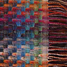 Missoni - beautiful... how is this woven... many shafts...