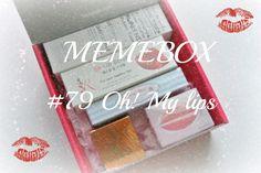 CamomilleBeautyTime: {306} Распаковка Memebox #79 Oh! My lips