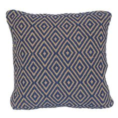Brentwood Originals Triple Diamond Pattern Pillow ($34) ❤ liked on Polyvore featuring home, home decor, throw pillows e indigo