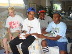 Tyler, the Creator, Jasper, Taco, and Lucas
