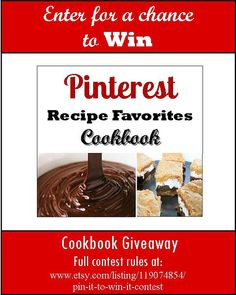 Amazing giveaway to all pinterest and food lovers