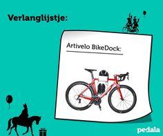 Heb jij je verlanglijstje al klaar voor pakjesavond? Zet er dan nog de Artivelo BikeDock op. Voor 't stijlvol ophangen van je racefiets! Of haal de nieuwe @pedalamag. Ik hoop dat je lief bent geweest.