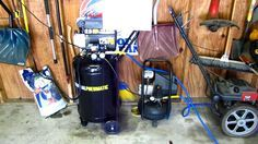 Connecting air compressor: two compressors are better than one