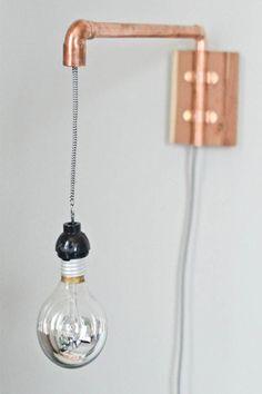 copper lamp - koper lamp