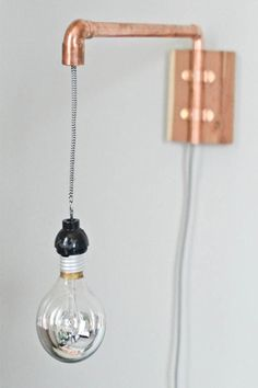 copper lamp - koper lamp