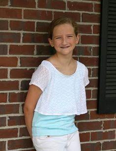 Sew Cool for the Tween Scene: Posh Popover by Love Notions #TweenSewing #sewing