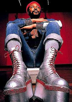 Marvin Gaye - love his boots!