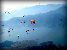 nepal pokhara paragliding - the most important experience of Bernd's life