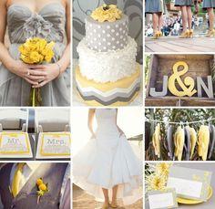 gray & yellow