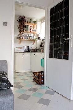 Enjoy Your Home: Moja podłoga w romby