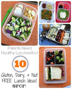 Keeley McGuire: Lunch Made Easy: #GFCF Adult Work Lunches ~ Gluten, Dairy,