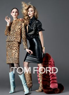 TOM FORD WOMENSWEAR AUTUMN/WINTER 2014. These looks are amazing, can't wait to purchase this RTW.