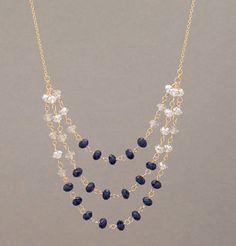 swarovski crystal necklace ✿⊱╮Teresa Restegui http://www.pinterest.com/teretegui/✿⊱╮