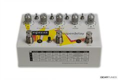From the GearTunes library of tone ~ the  Empress Superdelay ~ click it to hear it :)