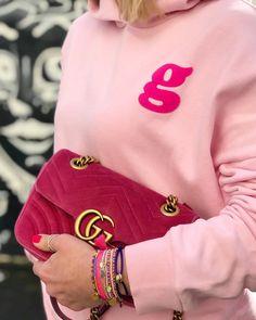 City Glam Glamometer - Hoodie Gucci - Marmont Velvet Bag