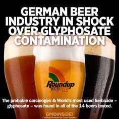 Don't drink Monsanto