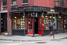 Three Lives bookstore in New York City.
