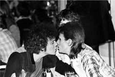 david bowie & lou reed... told you.