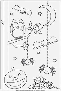 Fun Halloween Coloring Pages for Kids. They provide hours of at home fun for kids during the holiday season. Fun Halloween Coloring Pages for Kids. They provide hours of at home fun for kids during the holiday season. Theme Halloween, Halloween Crafts For Kids, Easy Halloween, Holidays Halloween, Fall Crafts, Halloween Printable, Preschool Halloween, Halloween Games, Kids Crafts