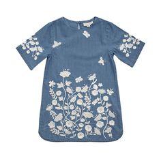 Stella Mccartney Kids - SIG FLORAL DRESS - Shop at the official Online Store