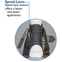 EVO Speed Lacer Ankle Stabilizer Ankle Taping, High Ankle Sprain, Volleyball Gear, Sprained Ankle, Soft Plastic, Duffel Bag, Types Of Shoes, Evo, Stability