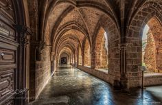 El claustro del Monasterio de Piedra. The cloister of the Monastery of Stone. Spain. by manuelromerogordon-44
