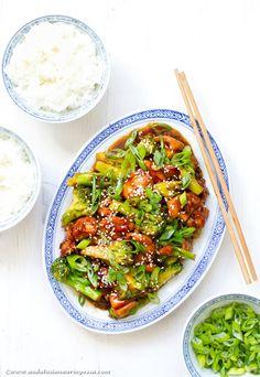 Fakeout kiinalaista pöytään alle puolen tunnin: sesamkanaa ja parsakaalia | Andalusian auringossa | Bloglovin'
