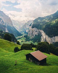 Bergwandeling in Europa - Zwitserland van Wengen naar Lauterbrunnen