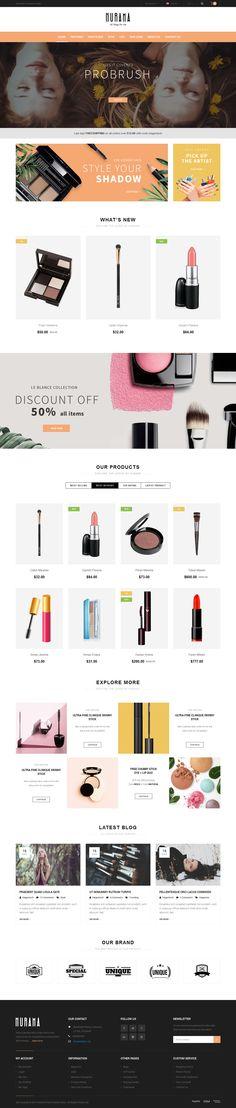 Hurama Responsive Magento Theme #fashion #jewelry #mega menu #minimalism #mobile #$84