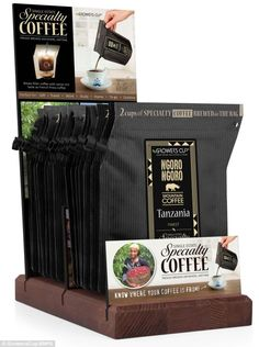 Grower's Cup, World's first DISPOSABLE 'coffee machine' lets you brew on the move | Mail Online  Read more: http://www.dailymail.co.uk/sciencetech/article-2621382/A-filter-Worlds-DISPOSABLE-coffee-machine-lets-brew-cup-move.