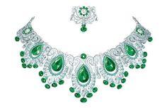 Van Cleef & Arpels Pierres de Caractère Variations Baia Verde necklace