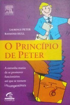 Livro O Principio de Peter - ISBN 8535213252