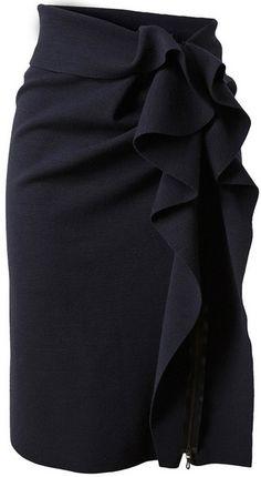 <3 this......Lanvin pencil skirt #lanvin #pencil skirt
