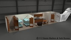 shelter inside side hill | NBC Fallout Shelters - 3d Models - 8x10x40 Underground Storm Shelters, Vault Doors, Safe Room, Entrance Doors, Fallout, This Is Us, Black Clouds, Post Apocalyptic, Walkway