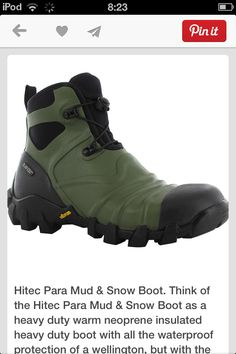 ca6ad3a322d81 Hi Tec Para mud boot. I m finding these this week! Ugg Boots