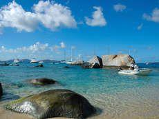 Karib tenger, Virgin szigetek.
