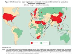 UNCTAD - overseas land investment for agricultural production, 2006-2009 (via Ingenerovictus' Facebook page)