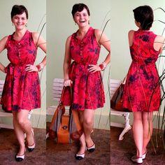 LEILA DINIZ *blog: ♥LOOK com modelo de vestido que acho o mais femini...