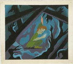 Peter Pan - Peter and TInkerbell - Mary Blair concept art | Flickr - Photo Sharing!