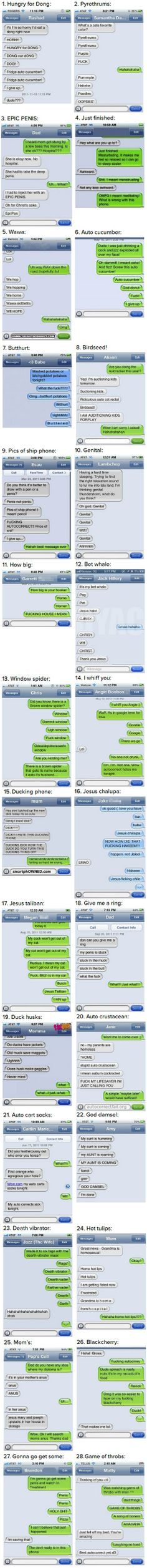 The 28 Most Hilarious Autocorrect Struggles Ever