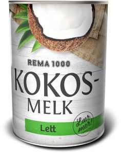 Coco Milk Light. A lot of healthy nutrition